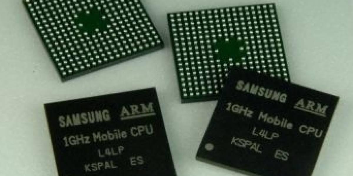 Samsung presenta CPU de 1GHz para móviles
