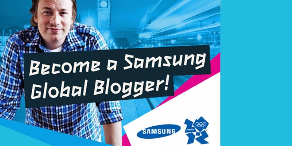 Samsung busca a jóvenes blogueros de todo el mundo para informar desde los JJOO
