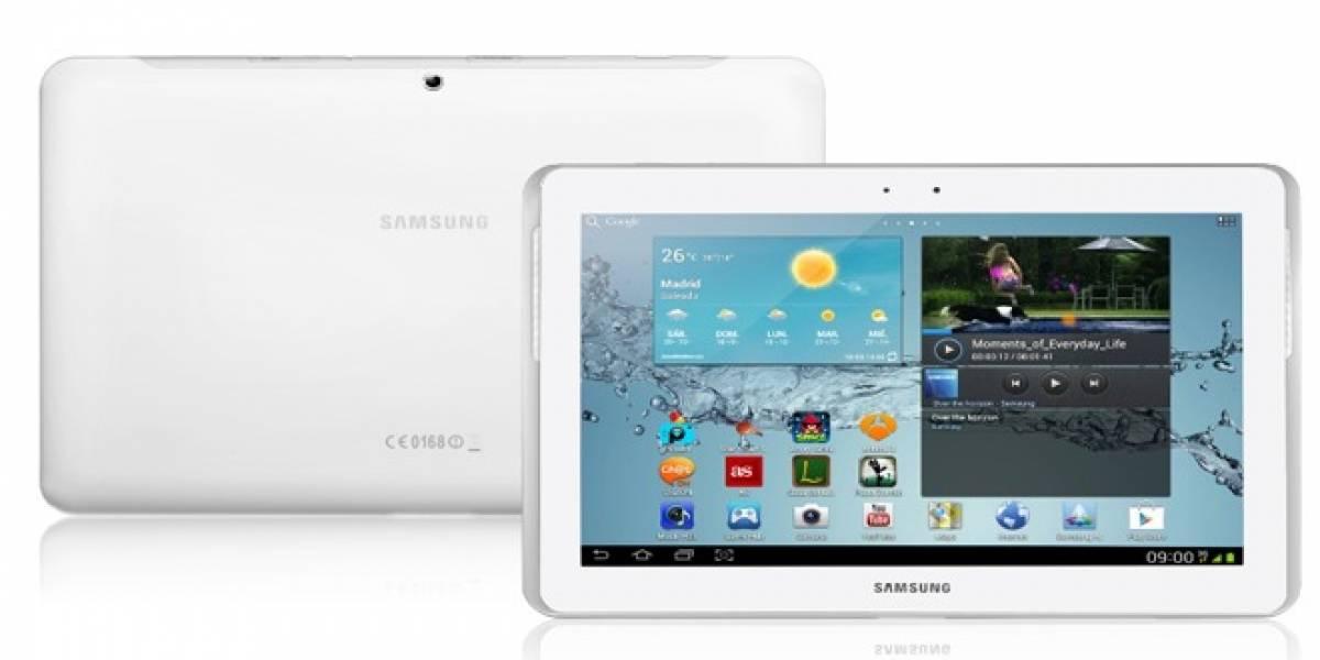 La Galaxy Tab 2 llegará a España a fin de mes