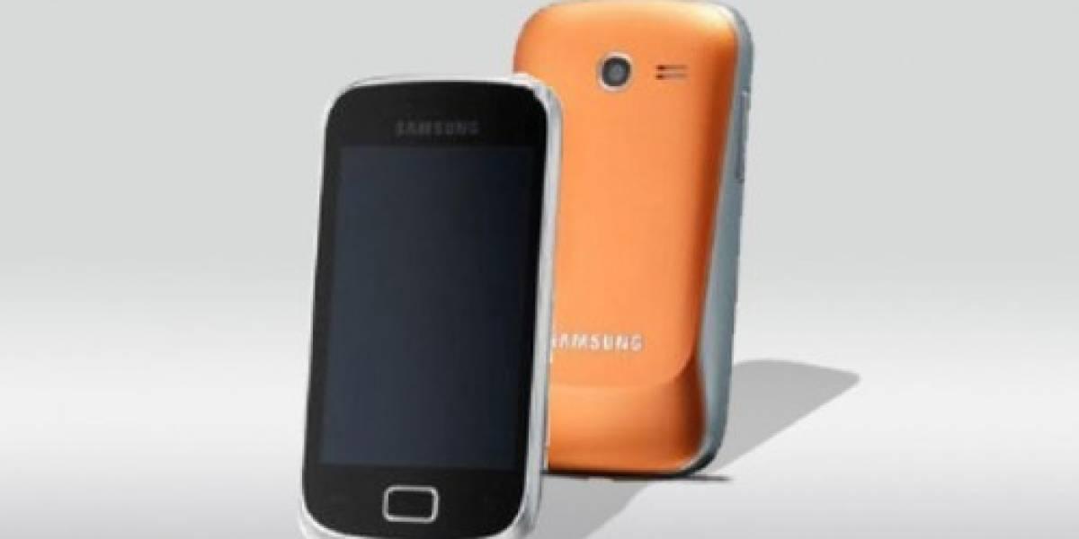 Samsung nos deja ver el Galaxy Mini 2 S6500