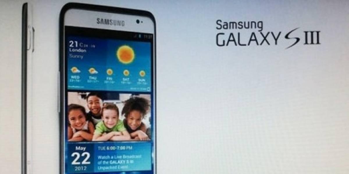 Lanzamiento del Galaxy S III podría ser en abril