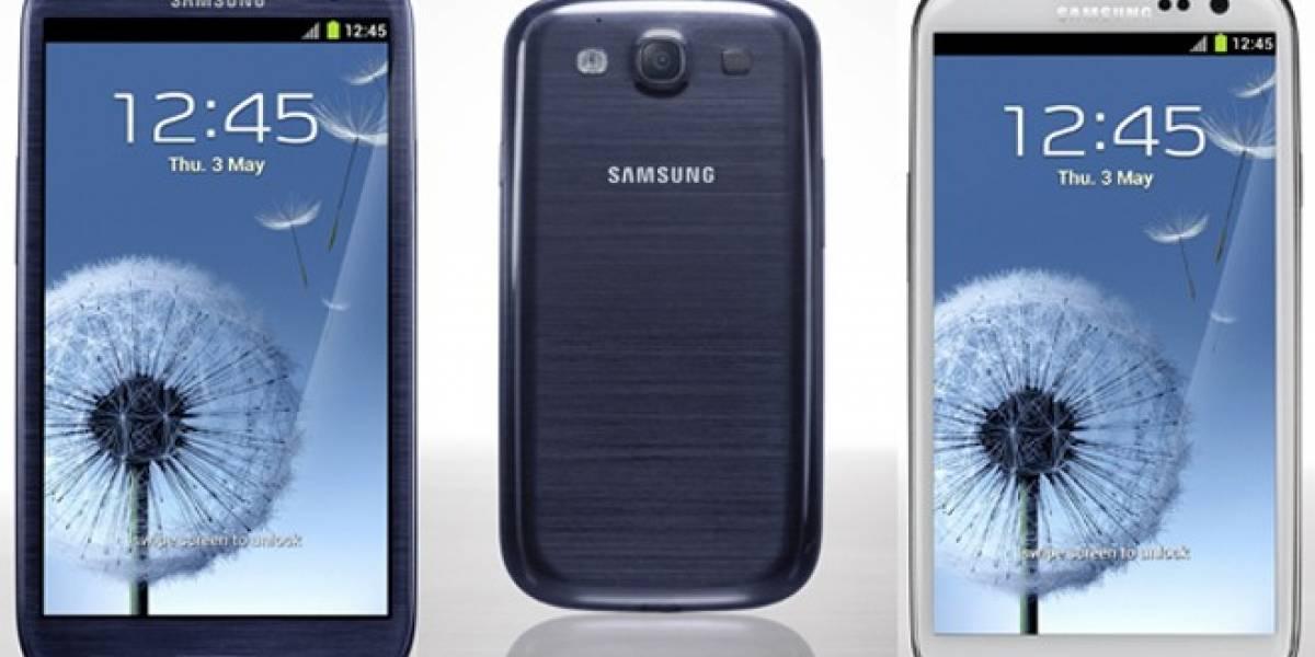 Versión canadiense del Galaxy S III viene con 2 GB de RAM y un procesador distinto