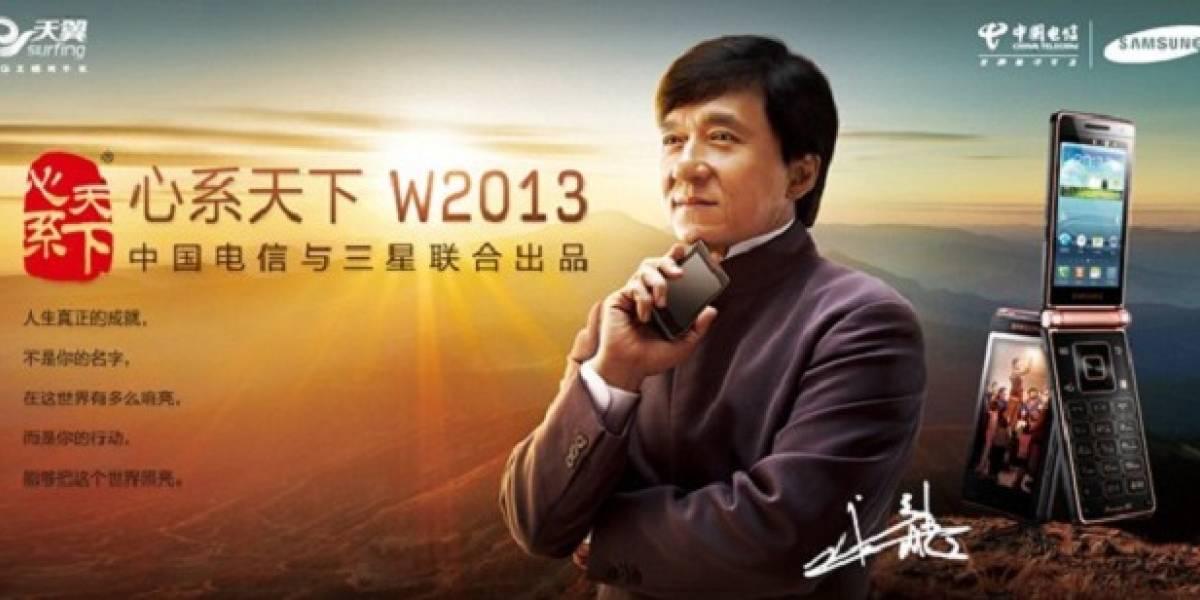 Samsung SCH-W2013: El carísimo teléfono diseñado para Jackie Chan