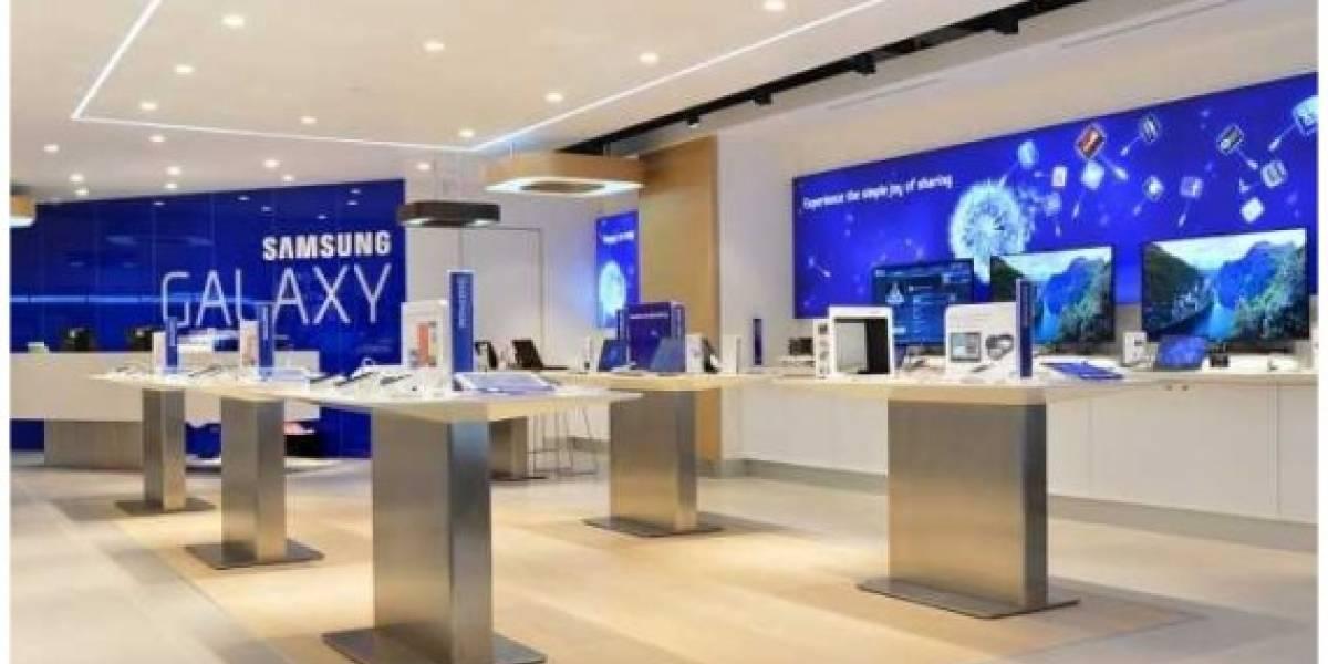 Samsung inaugura una tienda muy similar a una Apple Store