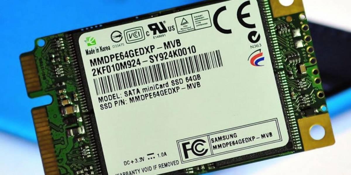 Samsung desarrolla SSD con diseño Mini-Card