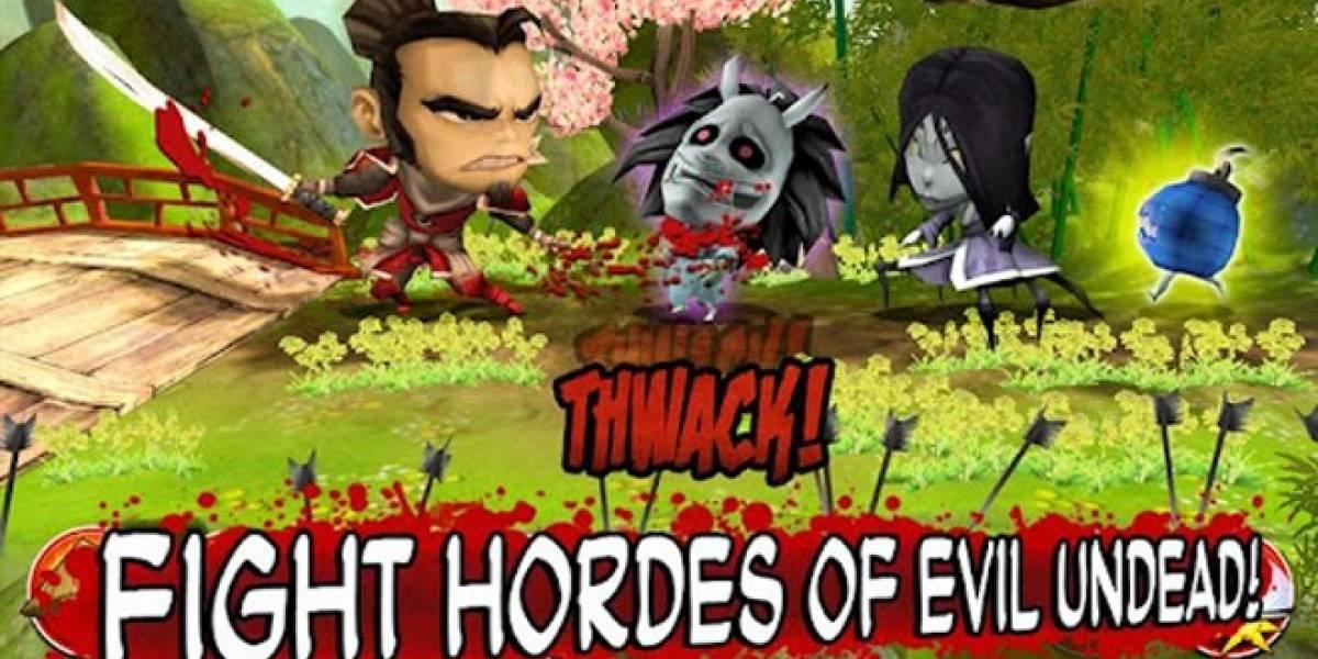 Samurai vs Zombies Defense llega a Android