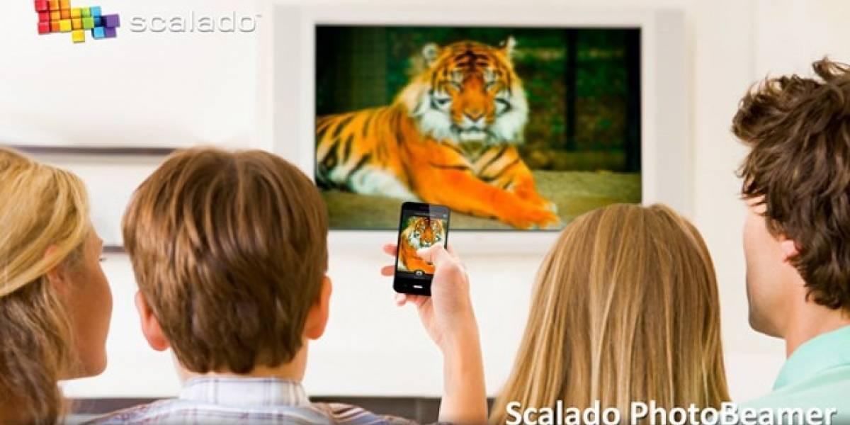 Proyecta tus fotos en cualquier pantalla con Scalado PhotoBeamer para iOS