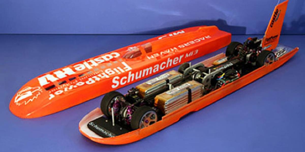 Schumacher Mi3: el auto radio-controlado más rápido del mundo