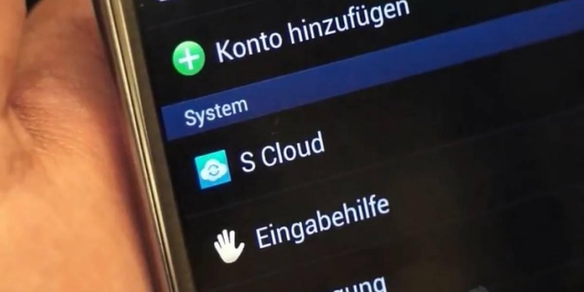 Galaxy Note II integra S Cloud. Samsung da un paso más hacia su propia nube