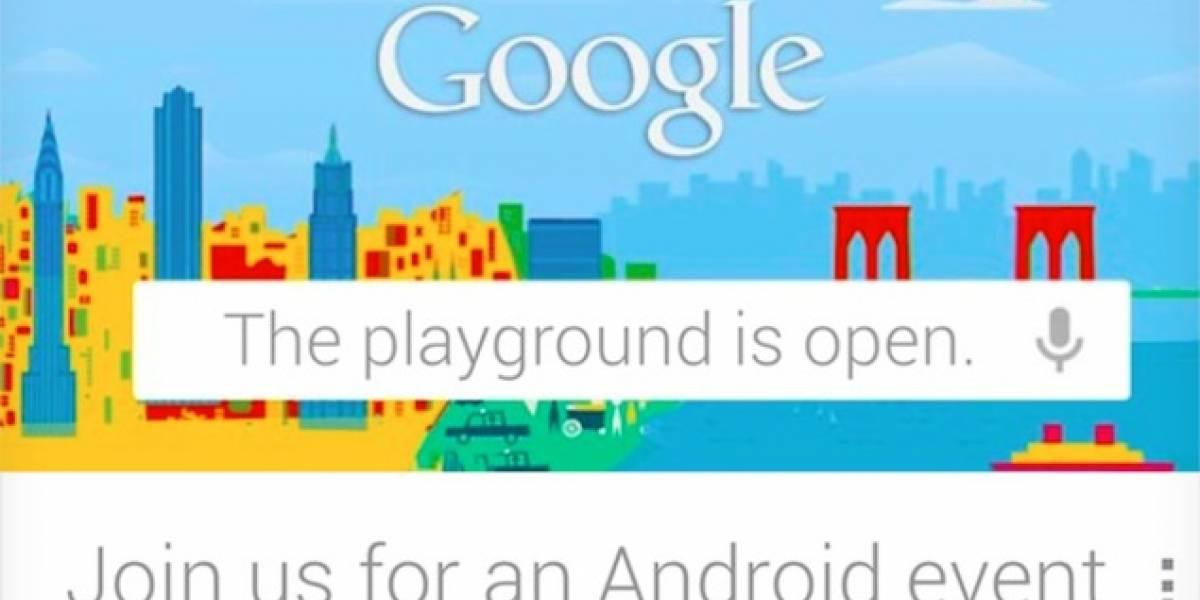 Google anuncia evento centrado en Android para el 29 de Octubre