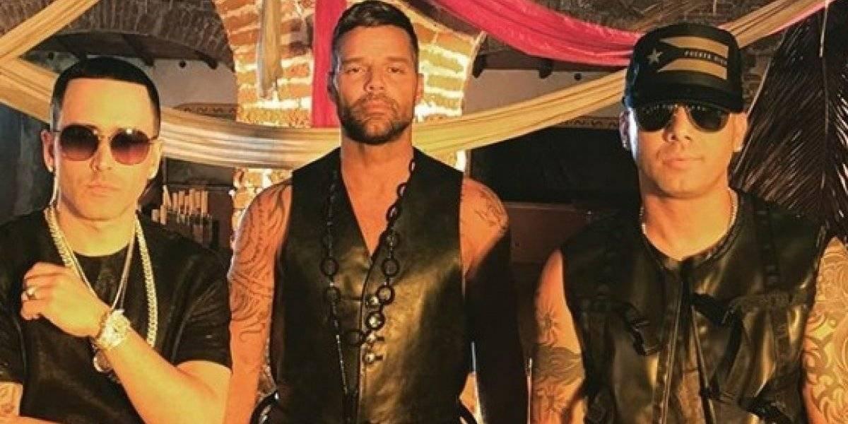 """Fiebre"" junta a Ricky Martin, Wisin y Yandel"