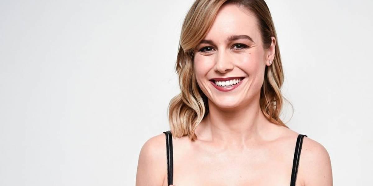 Muestran primeras imágenes de Brie Larson como Capitana Marvel