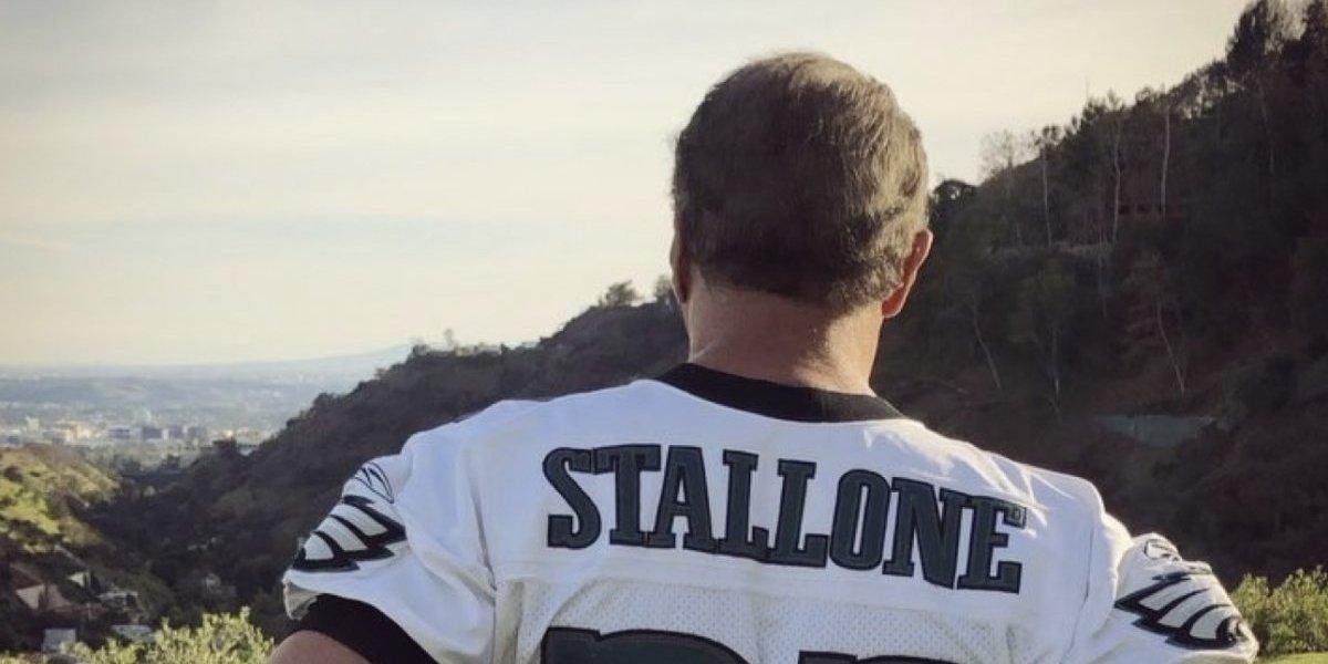 VIDEO: Stallone asegura victoria de las Águilas de Filadelfia