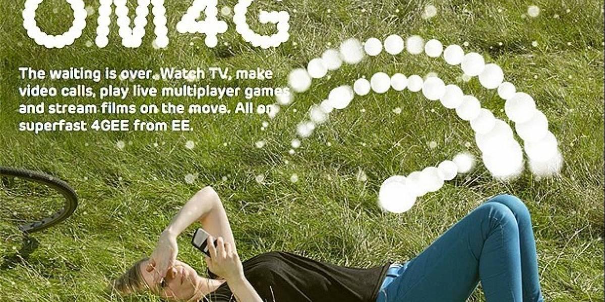 EE inaugura la primera red 4G del Reino Unido