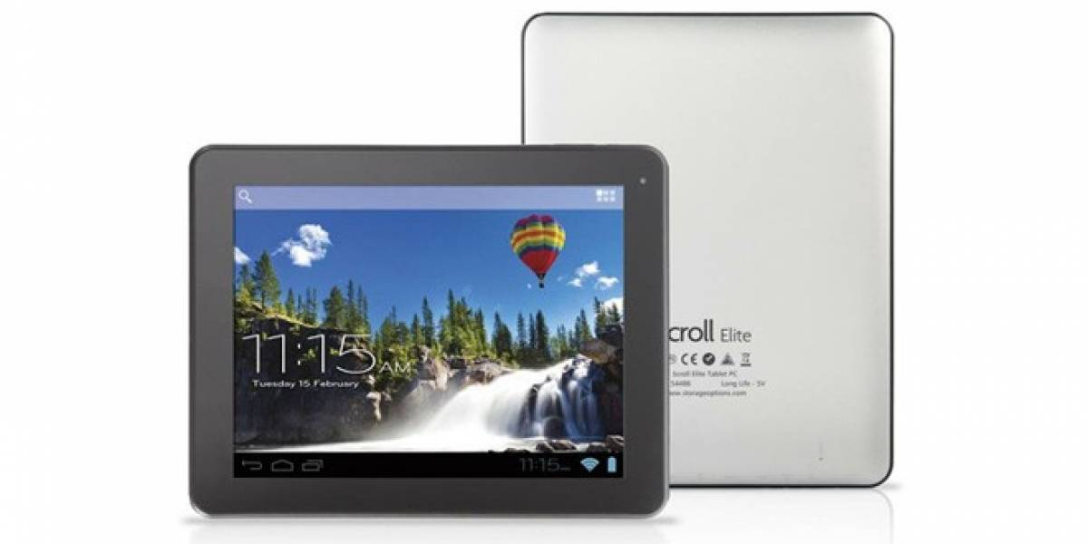 Se anuncian dos tablets Android de media gama por la británica Storage Options