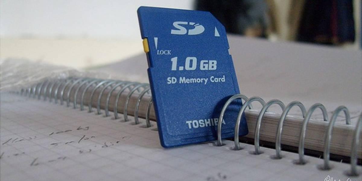 Historia: Las tarjetas SD