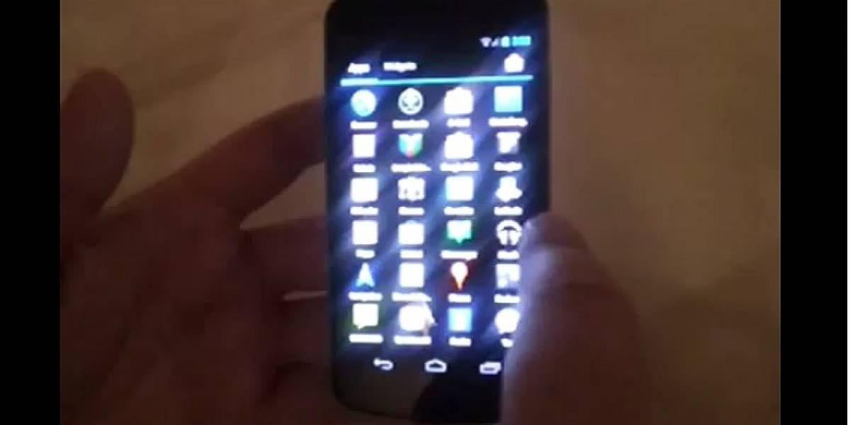 Aparece nuevo video del Galaxy Nexus