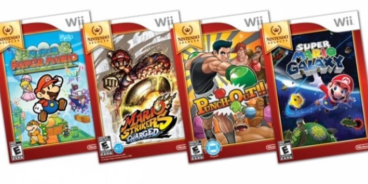 La línea Nintendo Selects recibe cuatro nuevos títulos