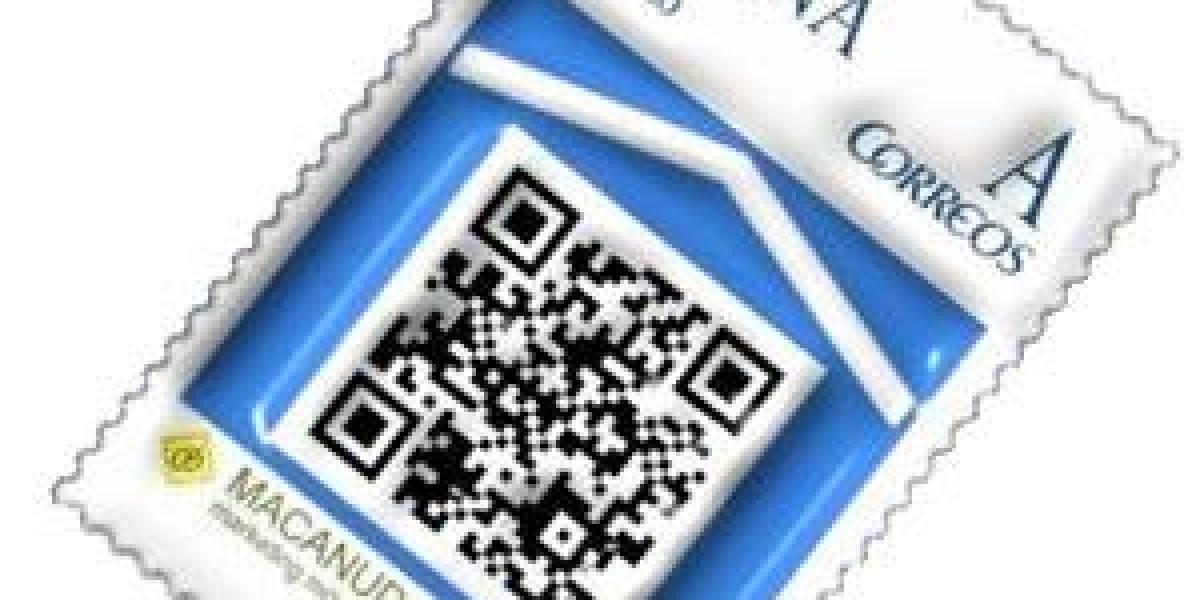 El código QR llega a los sellos postales españoles