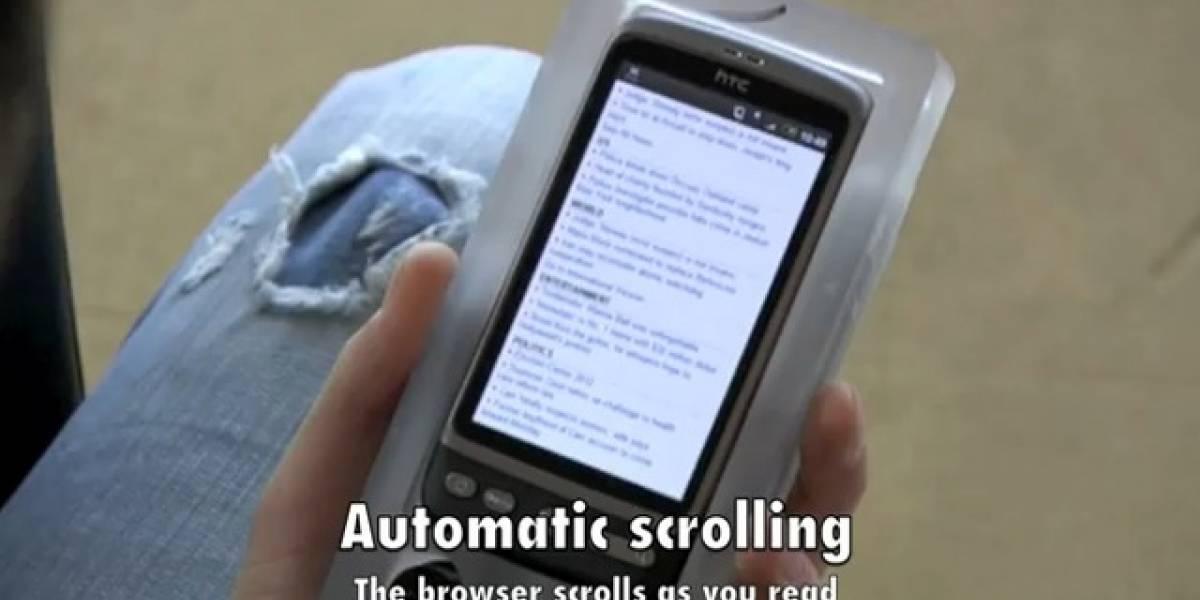 Proximamente podrás controlar tu smartphone con la vista