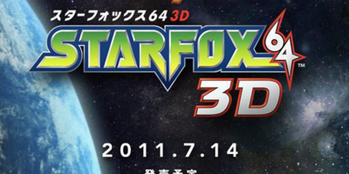 Star Fox 64 3D será multijugador local únicamente