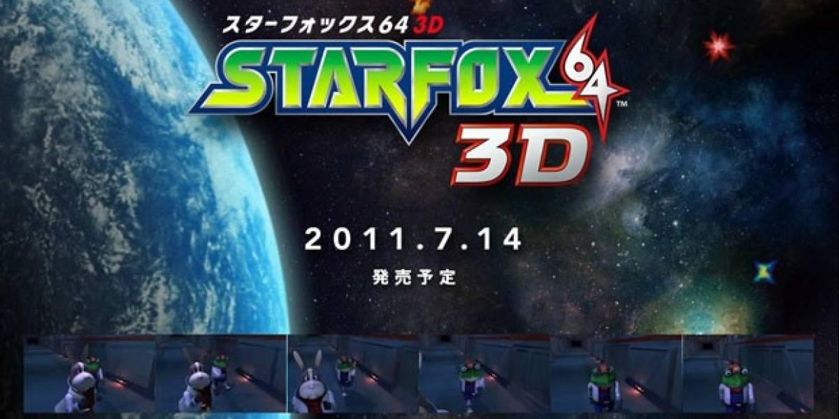 Star Fox 64 3D ya tiene fecha de lanzamiento en Japón