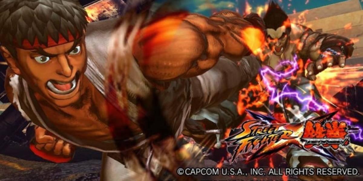 Capcom planea DLC cruzado para Street Fighter x Tekken entre PS3 y Vita [TGS 11]