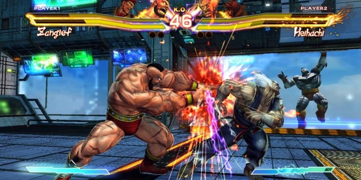 Street Fighter X Tekken no contará con personajes exclusivos en Xbox 360