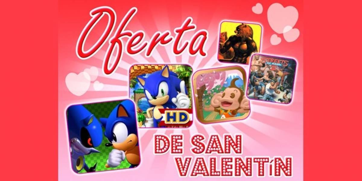 Sega celebra San Valentín con descuentos en sus juegos