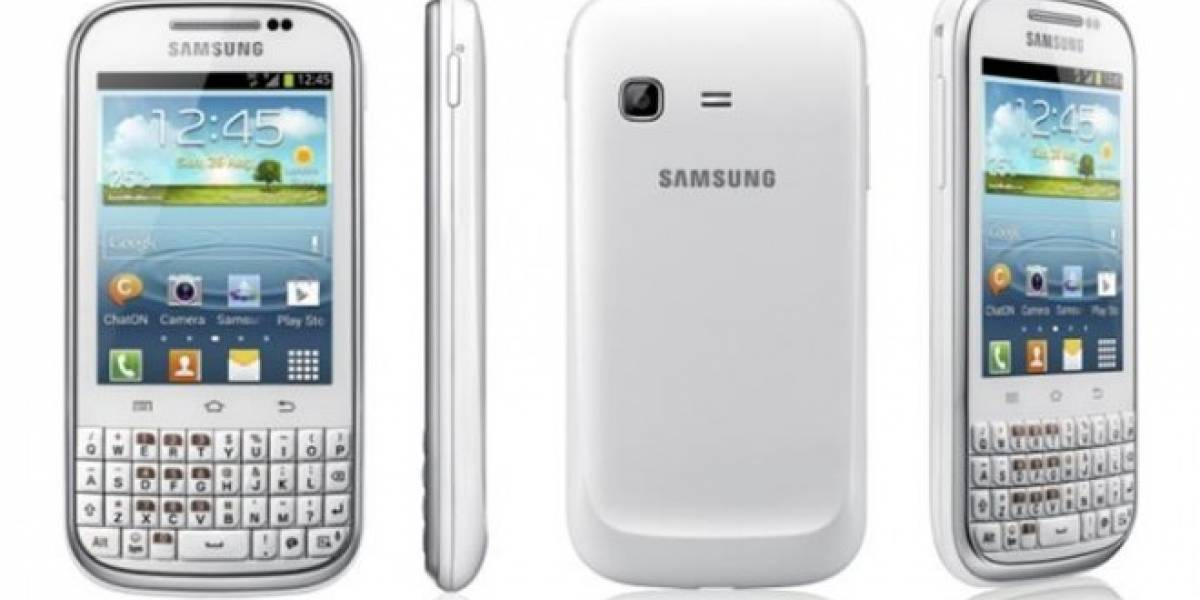 Samsung Galaxy Chat: QWERTY y Android 4.0 en un empaque conveniente