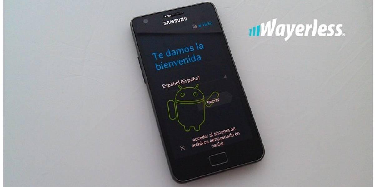 Android 4.0 filtrado para Samsung Galaxy S II, ¡y en Wayerless ya lo probamos!