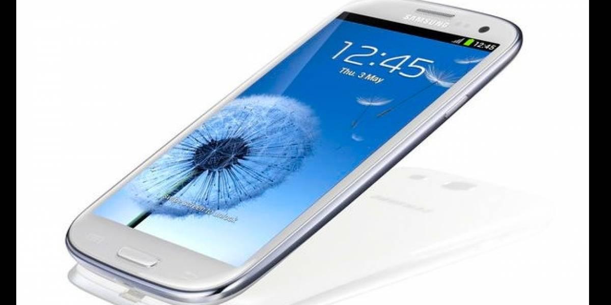 Samsung Galaxy SIII frente a cuatro rivales