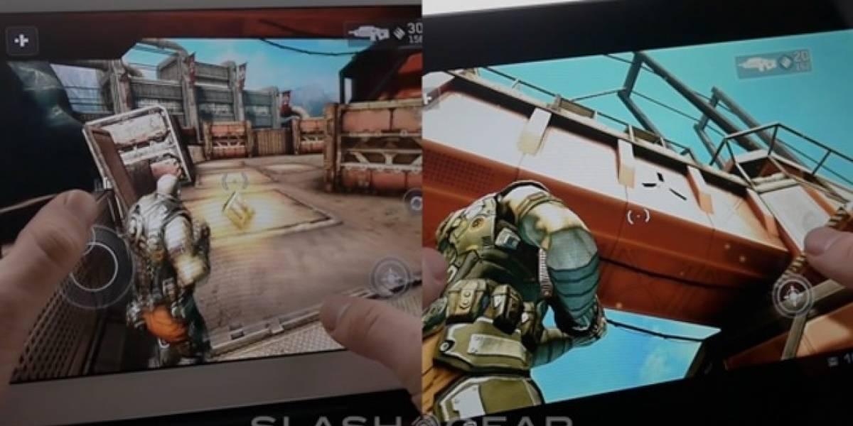 Comparando una ASUS Transformer Prime con una iPad 2 en videojuegos