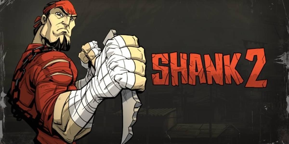 Shank 2 tiene nuevo trailer con elementos de juego en acción