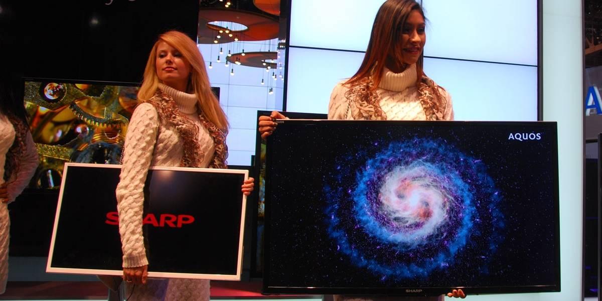 CES 2012: Sharp cree que deberíamos considerar las pantallas Aquos como portátiles