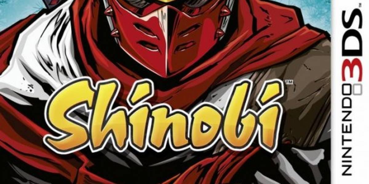 Confirmado: habrá juego de Shinobi para 3DS. Y tenemos el tráiler.