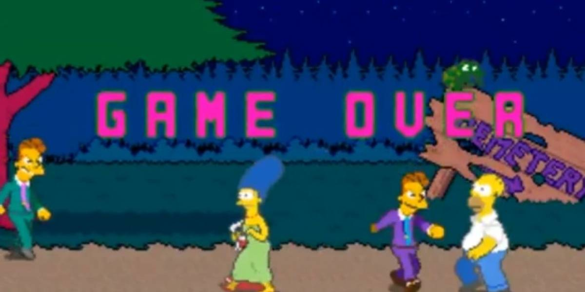 Aparece listado de logros de The Simpsons: The Arcade Game
