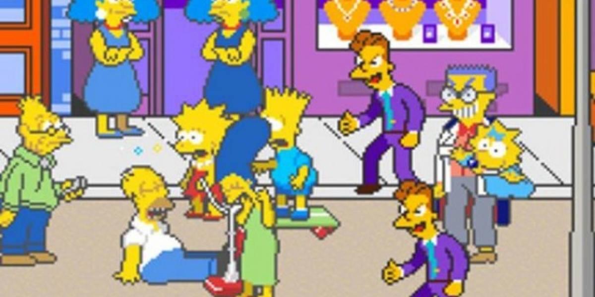 The Simpsons Arcade llega a Xbox 360 esta misma semana