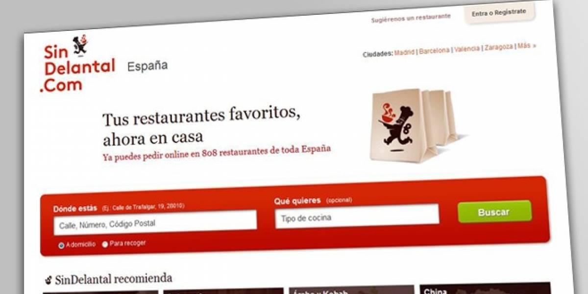 Sindelantal: Pide tus platos preferidos a domicilio a través del móvil