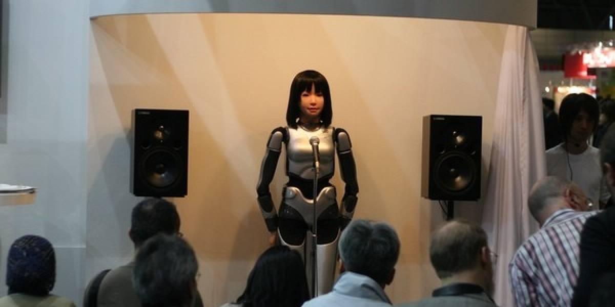 Robots obtienen nueva arma secreta: el canto