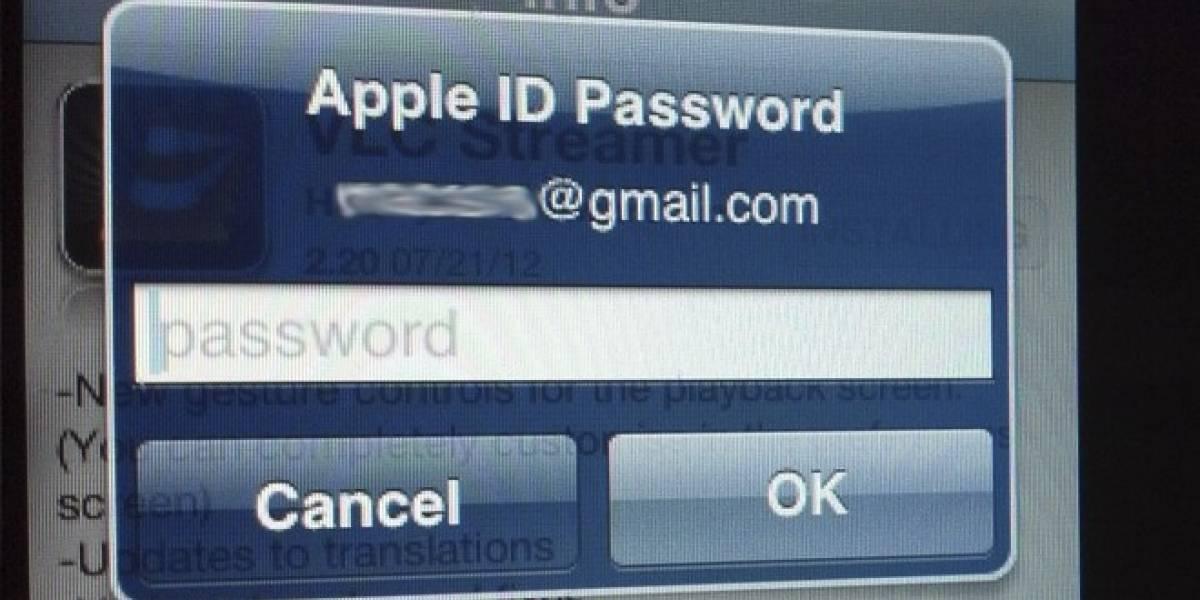 iOS 6 no te pedirá el password para descargar aplicaciones gratuitas