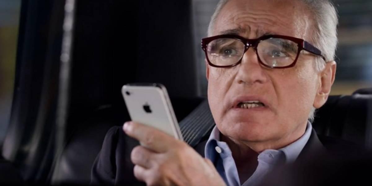 Martin Scorsese protagoniza nuevo comercial de iPhone 4S
