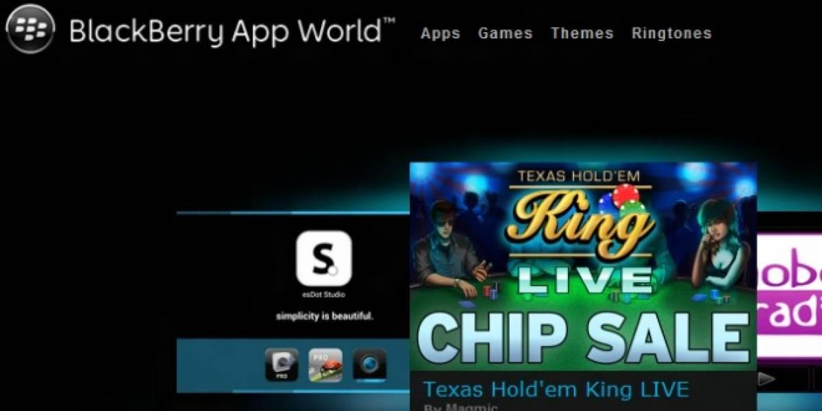 RIM agrega botón para actualizar todas las aplicaciones al mismo tiempo en App World