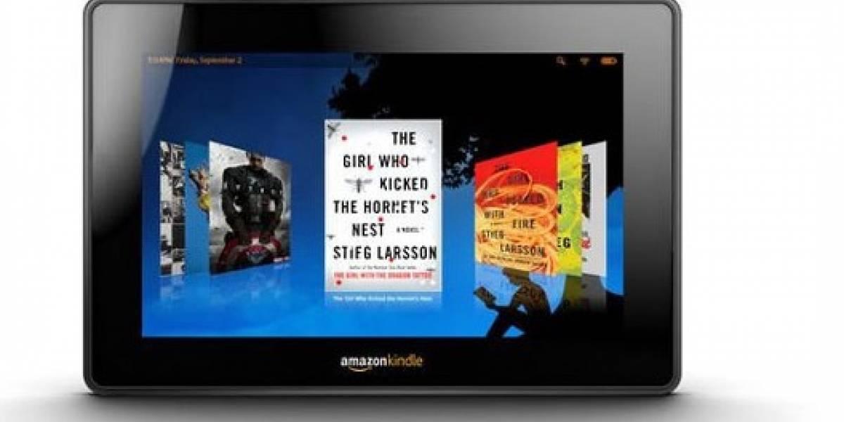 Amazon comienza a enviar el Kindle Fire hoy