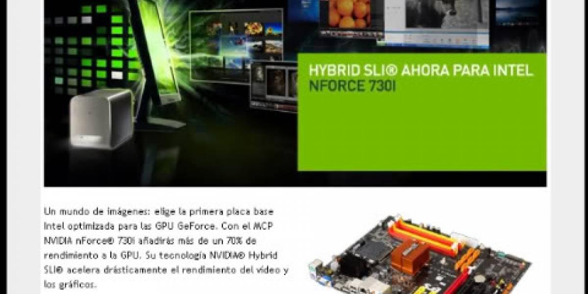 NVIDIA anuncia oficialmente el nForce 730i