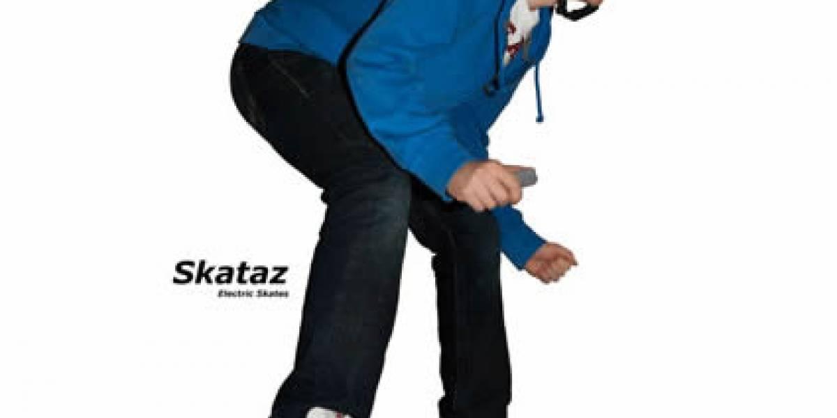 Los patines eléctricos son excelente opción para promover... la flojera