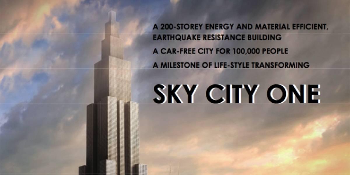 Chinos quieren construir el edificio más alto del mundo en tan sólo 90 días