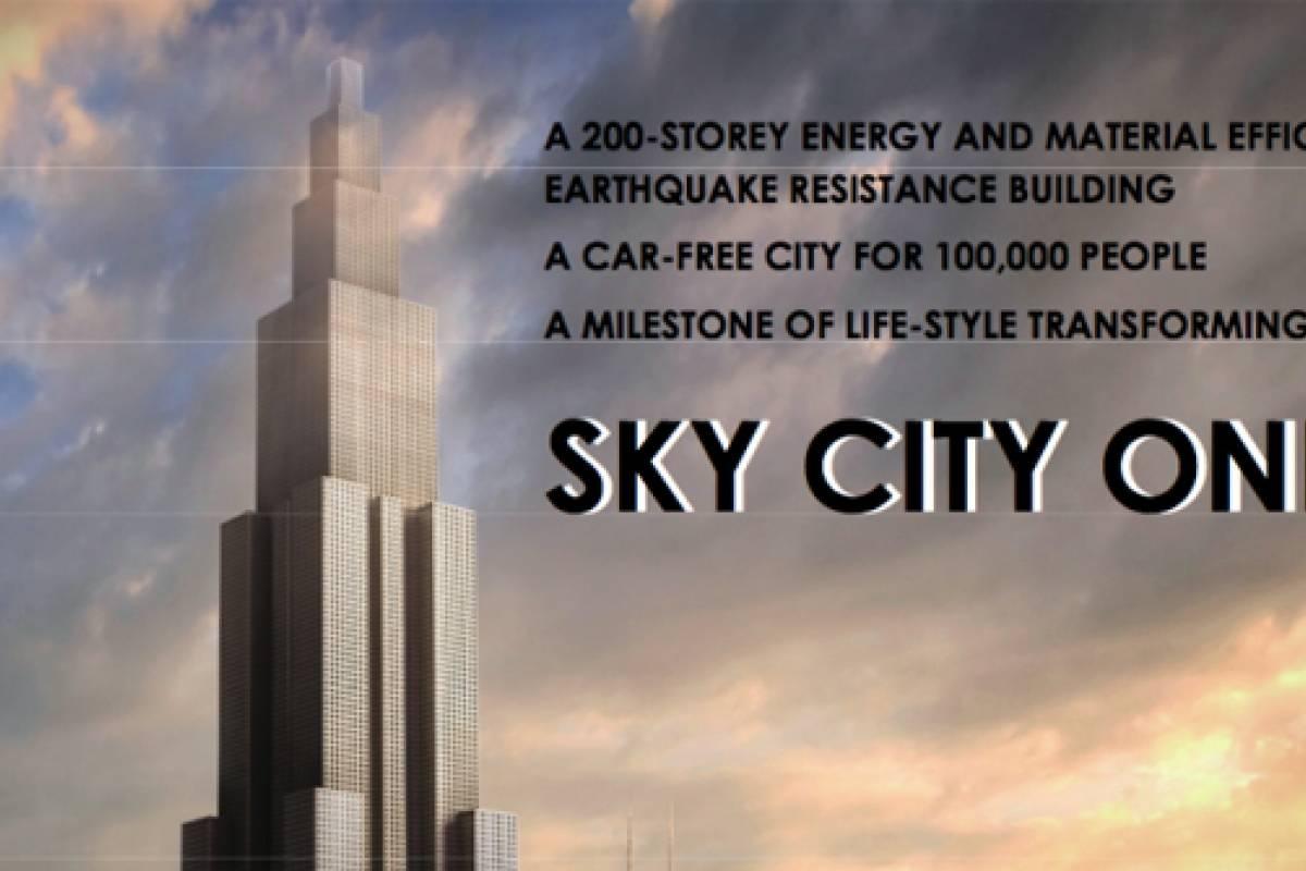 Chinos quieren construir el edificio m s alto del mundo en for Edificio movil en dubai