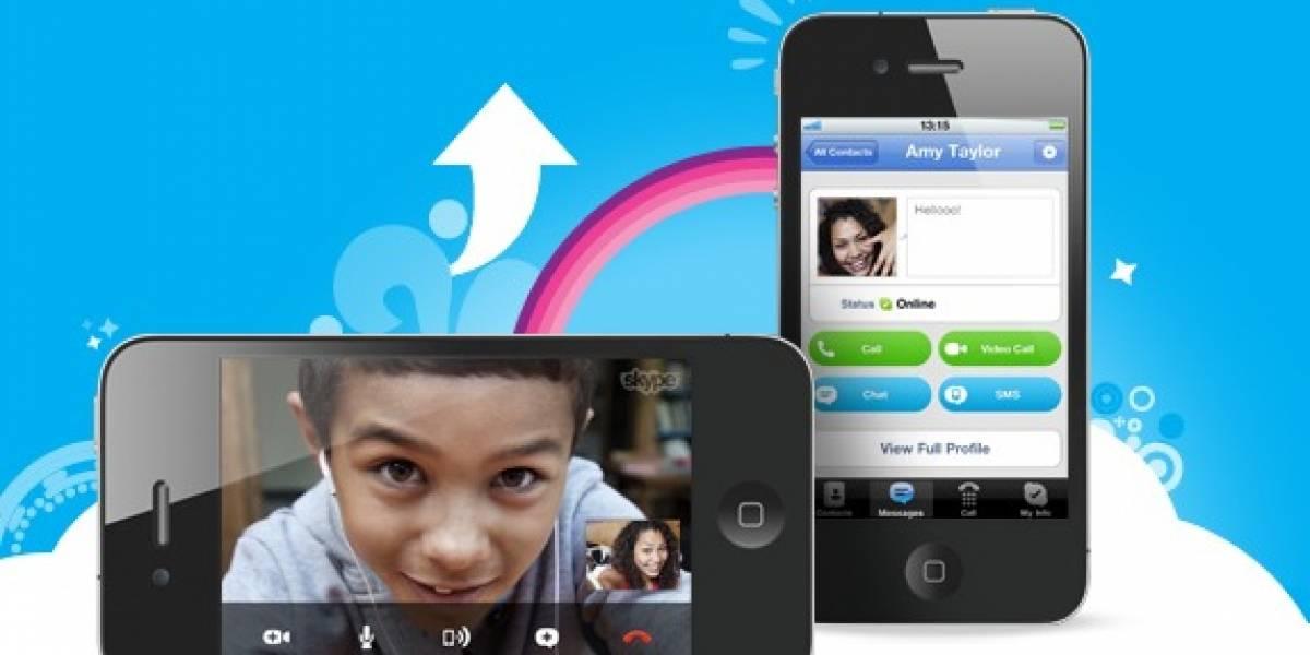 Nueva actualización de Skype para iOS con importantes mejoras