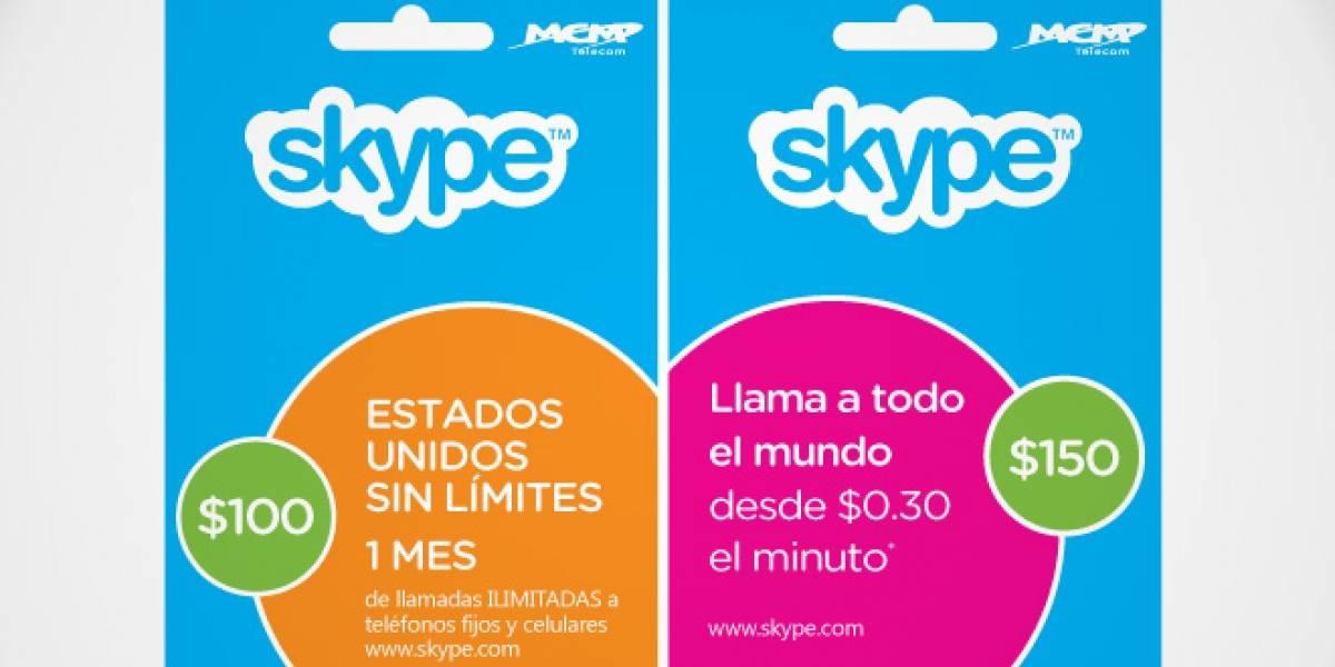 Skype venderá tarjetas de prepago en México